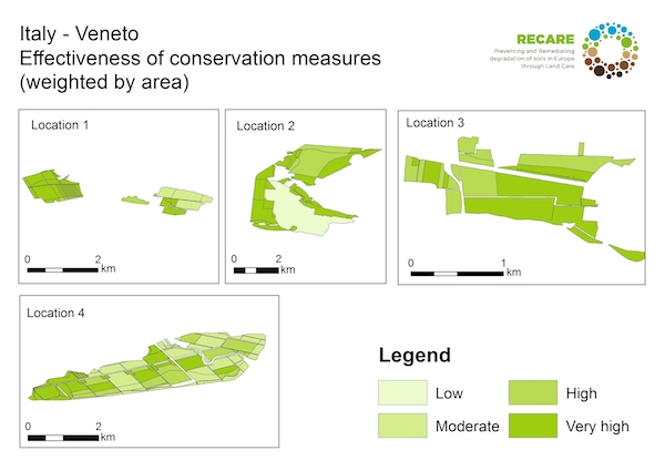 Italy Veneto effectiveness of conservation measuresS
