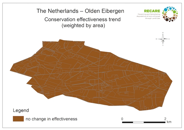 The Netherlands Olden Eibergen conservation effectiveness trendS