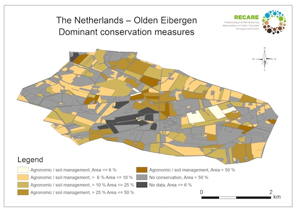 The Netherlands Olden Eibergen dominant conservation measuresS