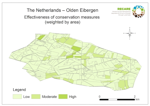 The Netherlands Olden Eibergen effectiveness of conservation measuresS