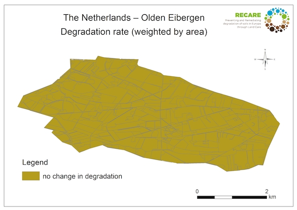 The Netherlands Olden Eibergen rate of degradationS