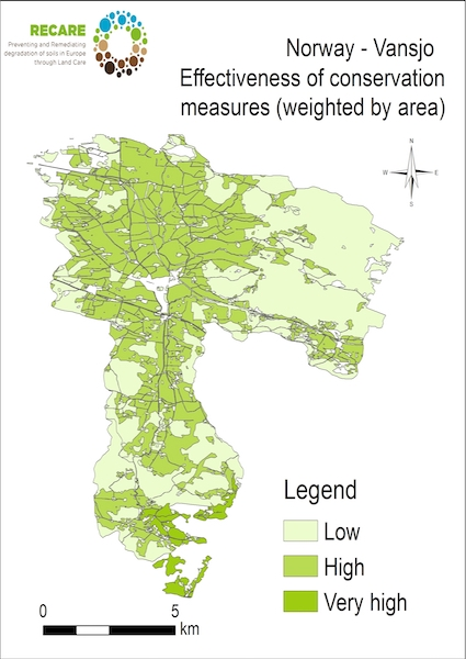 Norway Vansjo effectiveness of conservation measuresS