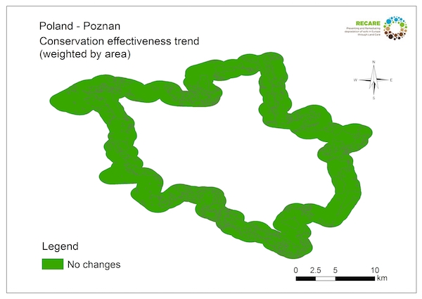 Poland Poznan conservation effectiveness trendS