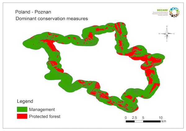 Poland Poznan dominant conservation measuresS