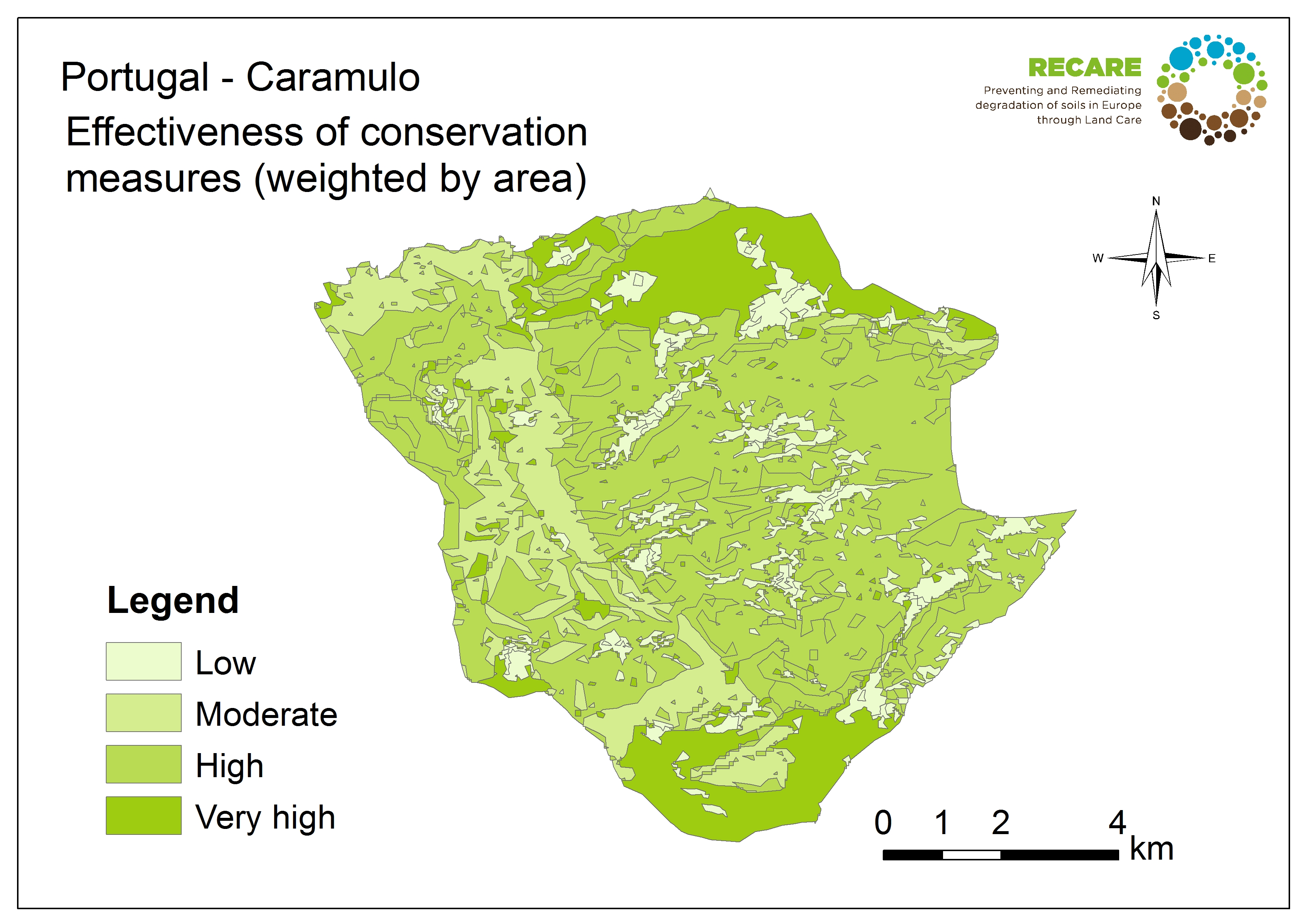 Portugal Caramulo effectiveness of conservation measures