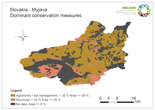 Slovakia Myjava dominant conservation measuresS