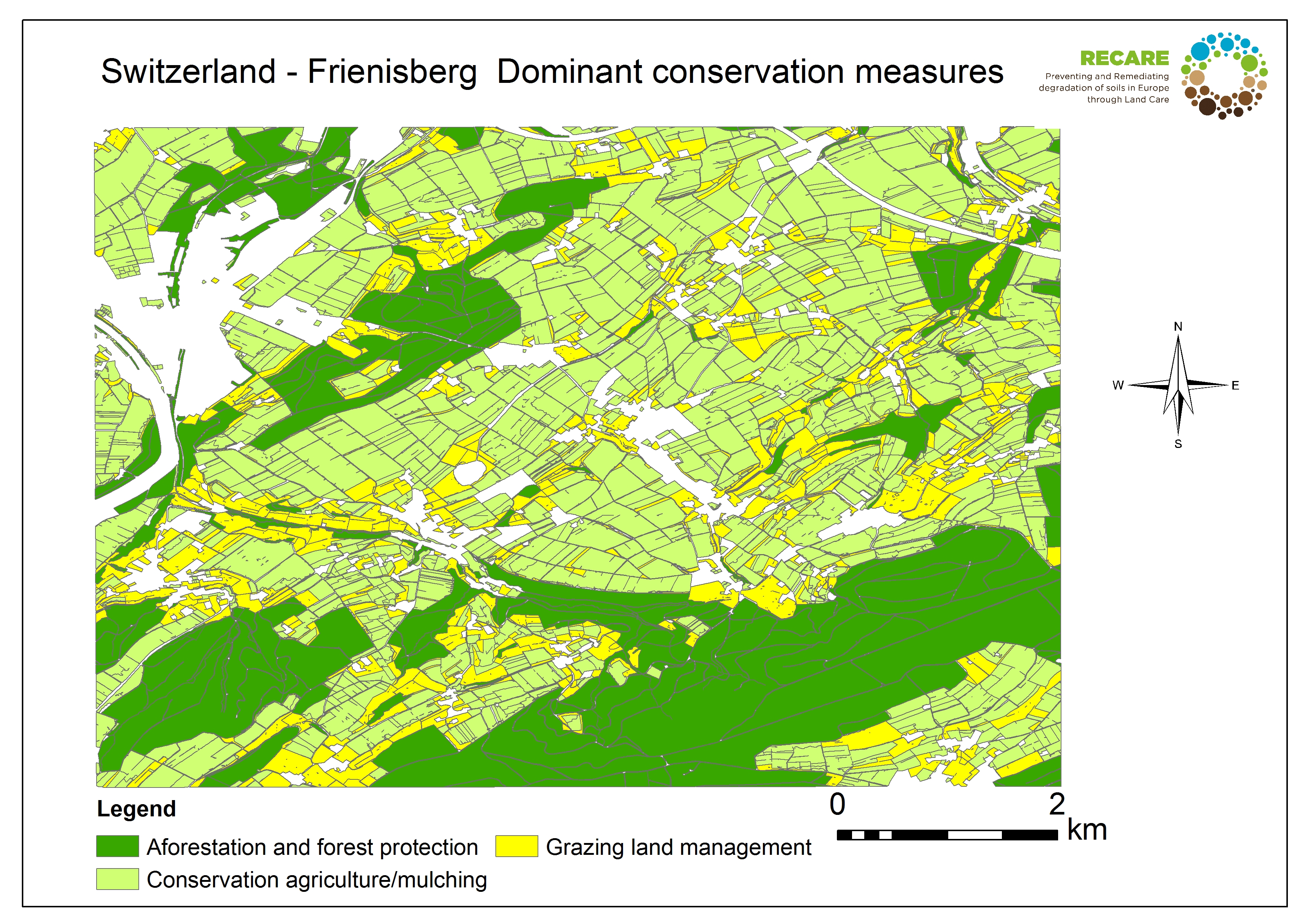 Switzerland Frienisberg dominant conservation measures